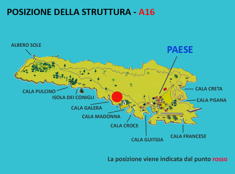 Cartina Geografica Lampedusa.Lampedusa Appartamento Villa Mimma